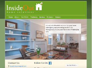 Screenshot of InsideoutHome.biz